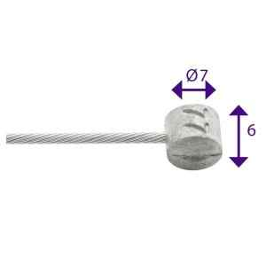 CABLE INOX FRE BARRIL 6x7mm...