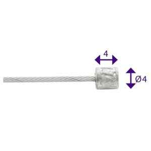 CABLE ELVEDES CAMBIO 4x4mm...